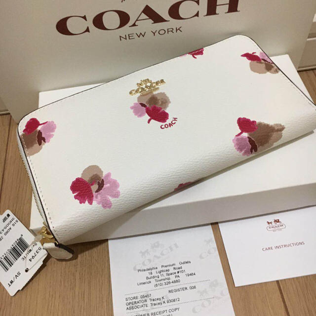 COACH(コーチ)のcoach長財布53794 正規品 新品  レディースのファッション小物(財布)の商品写真