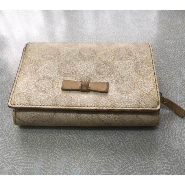COACH(コーチ)のコーチの折財布オプアート レディースのファッション小物(財布)の商品写真