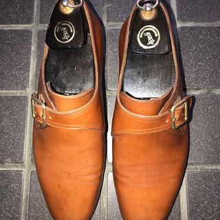 タニノクリスチー(TANINO CRISCI)の希少品タニノクリスチーのシングルモンクの靴になります。検索用ジョンロブオールデン(ドレス/ビジネス)