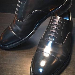 リーガル(REGAL)の超美品リーガルのスペシャルメイドコードバンの靴です。検索用オールデンジョンロブ(ドレス/ビジネス)