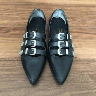 コムデギャルソン(COMME des GARCONS)のコムデギャルソン 靴 革靴 (ローファー/革靴)