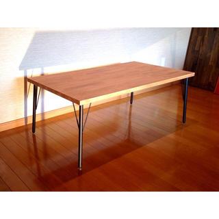 送料無料 アイアン ローテーブル センターテーブル インダストリアル 家具 (ローテーブル)