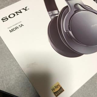 ソニー(SONY)のぱすた様 SONY MDR-1A シルバー(ヘッドフォン/イヤフォン)