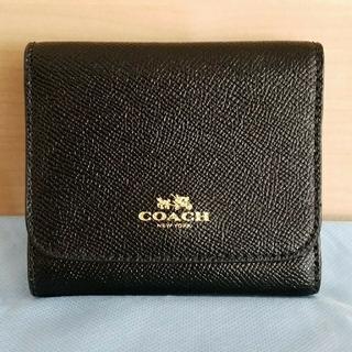 コーチ(COACH)のりりりり 様 COACH コーチ 折りたたみ財布 新品未使用(財布)