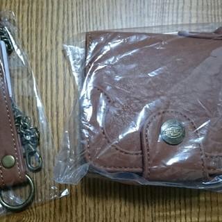 ディッキーズ(Dickies)のK,(S41)ディッキーズ財布新品 ライトブラウン(折り財布)