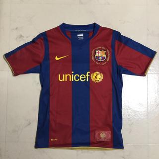 クストバルセロナ(Custo Barcelona)の美品 NIKE バルセロナ サッカーユニフォーム ジュニア(ウェア)