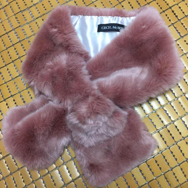 CECIL McBEE(セシルマクビー)のセシルマクビー❤︎スヌード❤︎ レディースのファッション小物(スヌード)の商品写真