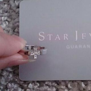 スタージュエリー(STAR JEWELRY)のstarjewelryスタージュエリーk18STARJEWELRY4号ダイヤ(リング(指輪))