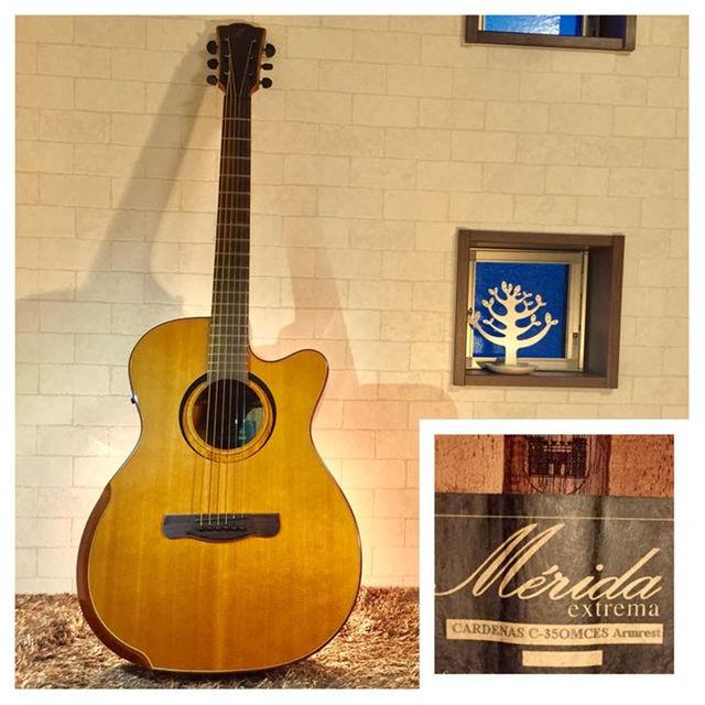 468.Merida C-35OMCES❗️オール単板❗️エレアコ‼️ 楽器のギター(アコースティックギター)の商品写真