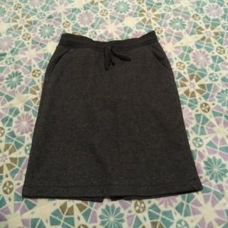 ユニクロ(UNIQLO)の裏ボア*スカート(ひざ丈スカート)