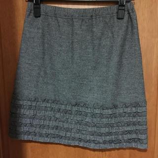 ストラ(Stola.)のストラの裾フリルスカート(ひざ丈スカート)