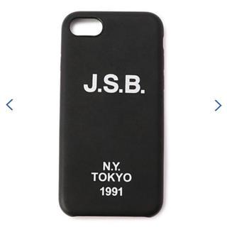 サンダイメジェイソウルブラザーズ(三代目 J Soul Brothers)のJ.S.B. Logo I Phone 7 Case(iPhoneケース)