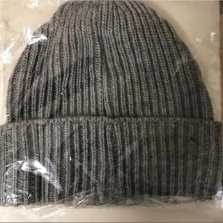 レイジブルー(RAGEBLUE)のRAGEBLUE ニット帽 グレー レイジブルー(ニット帽/ビーニー)