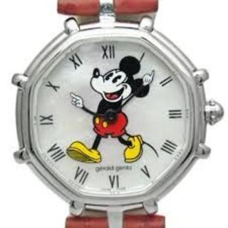 ジェラルドジェンタ(Gerald Genta)のミッキーマウスの腕時計(腕時計(アナログ))