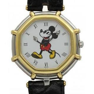 ジェラルドジェンタ(Gerald Genta)のミッキーマウスの腕時計 コンビモデル(腕時計(アナログ))