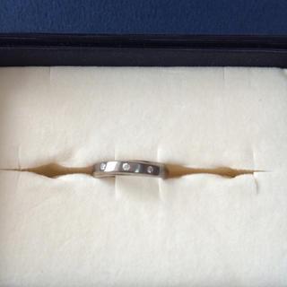 ミッシェルクラン(MICHEL KLEIN)のミッシェルクランスチールリング(リング(指輪))
