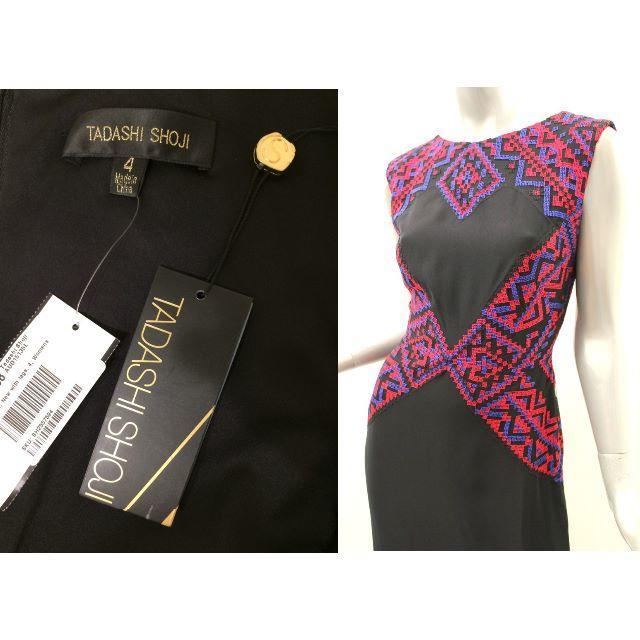 TADASHI SHOJI(タダシショウジ)の【新品・格安】Tadashi shoji 希少デザイン ロングドレス4  レディースのフォーマル/ドレス(ロングドレス)の商品写真