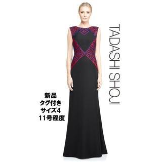 タダシショウジ(TADASHI SHOJI)の【新品・格安】Tadashi shoji 希少デザイン ロングドレス4 (ロングドレス)