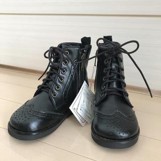 ファミリア(familiar)のファミリア 新品 靴 ブーツ 黒  15cm 箱なし(ブーツ)