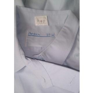 最終値下げ!白衣 ワンピース 2枚 ! 4L ブルー ナース服 、エステ(ひざ丈ワンピース)