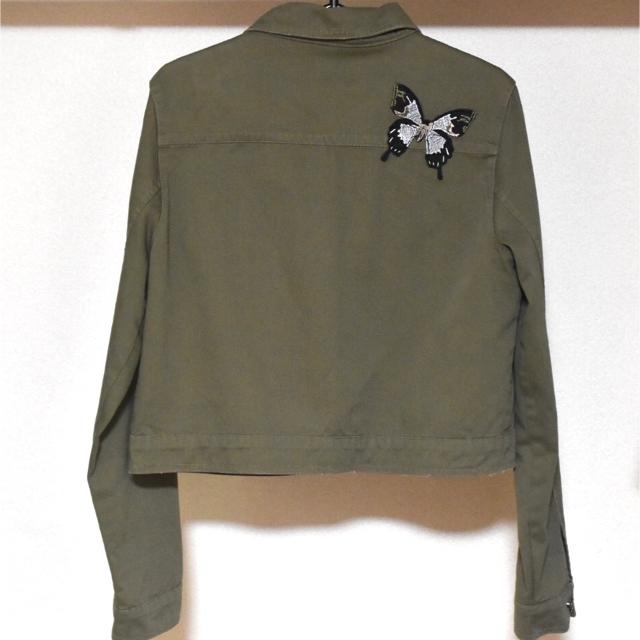 ZARA(ザラ)のZARA ジャケット レディースのジャケット/アウター(Gジャン/デニムジャケット)の商品写真