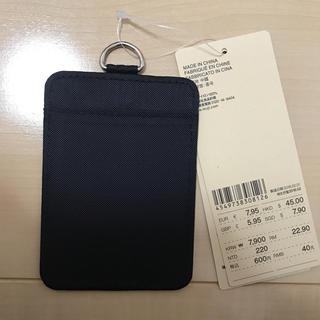 ムジルシリョウヒン(MUJI (無印良品))の無印良品新品カードケース定価600円(名刺入れ/定期入れ)