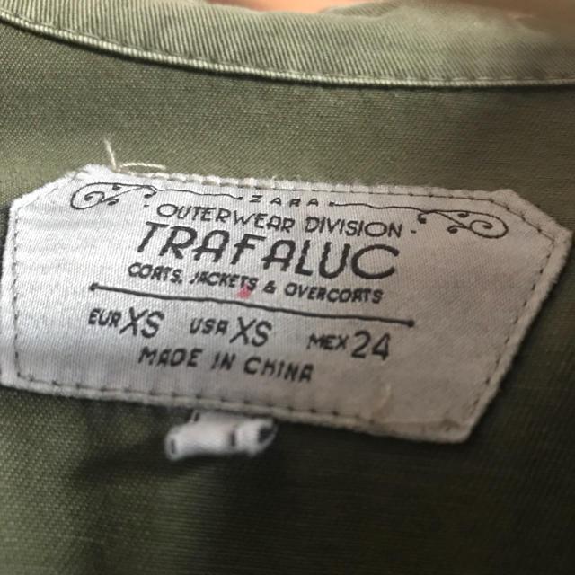 ZARA(ザラ)の【値下げ】ZARA☆カーキシャツ レディースのトップス(シャツ/ブラウス(長袖/七分))の商品写真