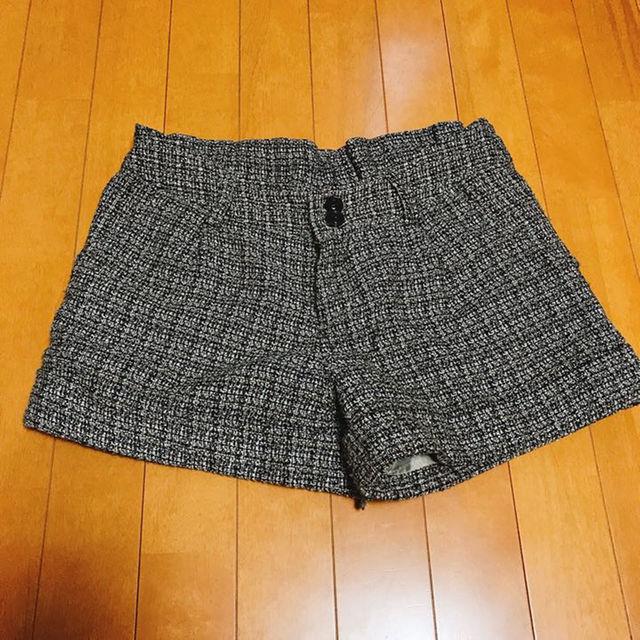 しまむら(シマムラ)の❤ラメ入り❤トレンドショートパンツ レディースのパンツ(ショートパンツ)の商品写真
