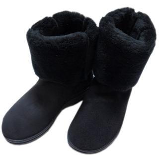 アルコペディコ(ARCOPEDICO)の【新品】 アルコペディコ L'ライン MILAN2 ボアブーツ ブラック 38(ブーツ)