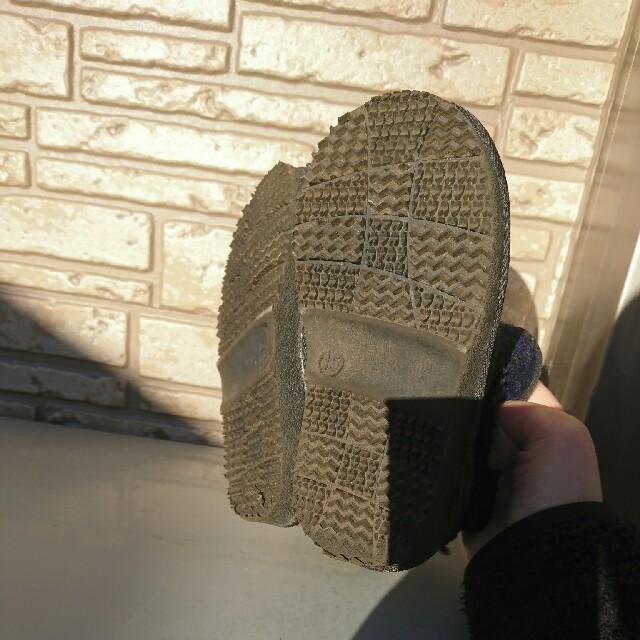 しまむら(シマムラ)のA様専用 ハリスツイード ブーツ 15cm キッズ/ベビー/マタニティのキッズ靴/シューズ (15cm~)(ブーツ)の商品写真