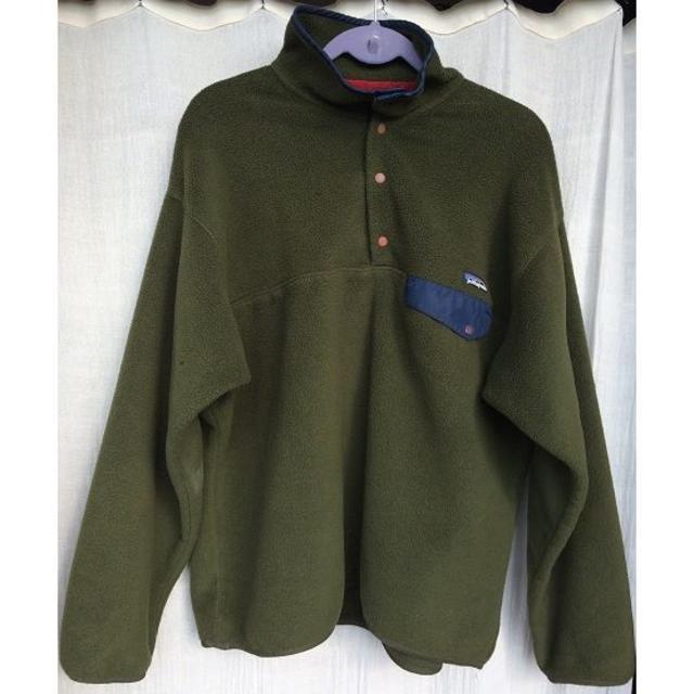 patagonia(パタゴニア)のパタゴニアフリース古着サイズM~L相当シンチラ メンズのジャケット/アウター(その他)の商品写真