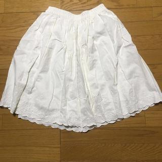 シマムラ(しまむら)のしまむら×OLIVE des OLIVE 白スカート(ひざ丈スカート)