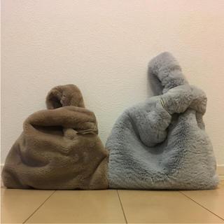 ジーユー(GU)のgu.3coins☆美品エコファーバッグ2点セット♡(トートバッグ)