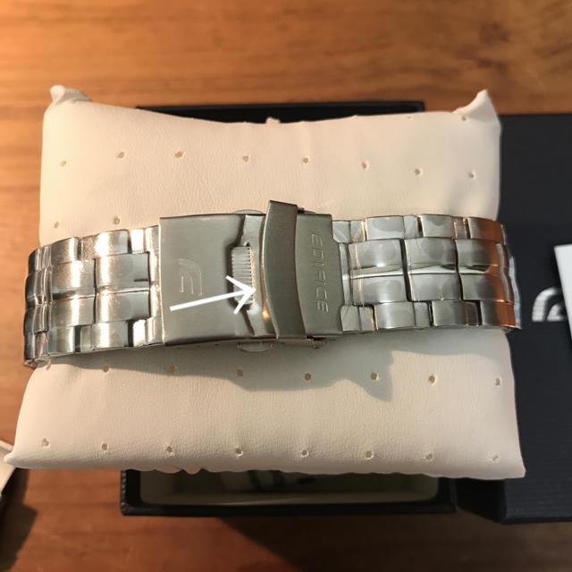 57fbac40ba EDIFICE(エディフィス)のカシオ CASIO エディフィス EDIFICE トロロッソ 難あり メンズの時計(