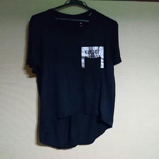 リーボック(Reebok)のReebok Tシャツ 黒 スポーツウェア(ヨガ)
