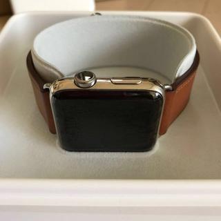 アップル(Apple)の【本体美品】Apple Watch Series 2 42mm MNU12J/A(スマートフォン本体)