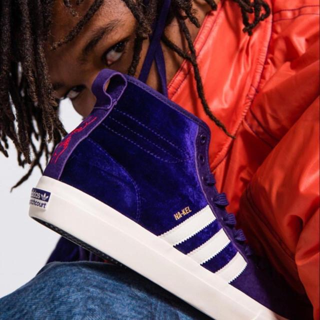 adidas(アディダス)の新品 日本未発売 adidas matchcourt high rx 26cm メンズの靴/シューズ(スニーカー)の商品写真