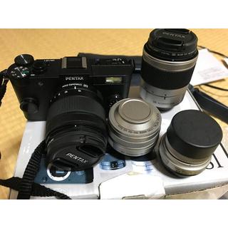 ペンタックス(PENTAX)のPENTAX Q-S1 レンズ4本 セット(ミラーレス一眼)