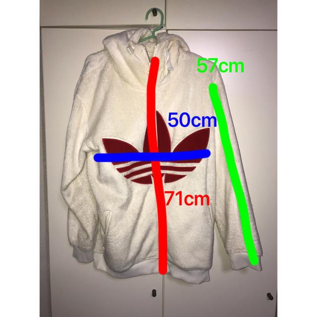 adidas(アディダス)のadidasモコモコアウター レディースのジャケット/アウター(毛皮/ファーコート)の商品写真