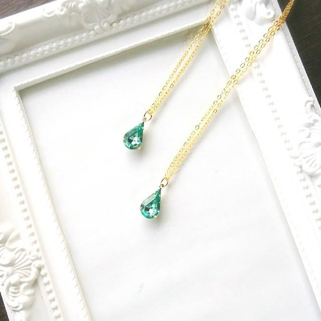 在庫ラスト フォスフォフィライト イメージ ネックレス 宝石の国 ハンドメイドのアクセサリー(ネックレス