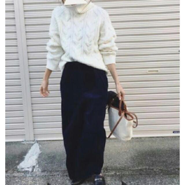 GU(ジーユー)のジャンボネック レディースのトップス(ニット/セーター)の商品写真