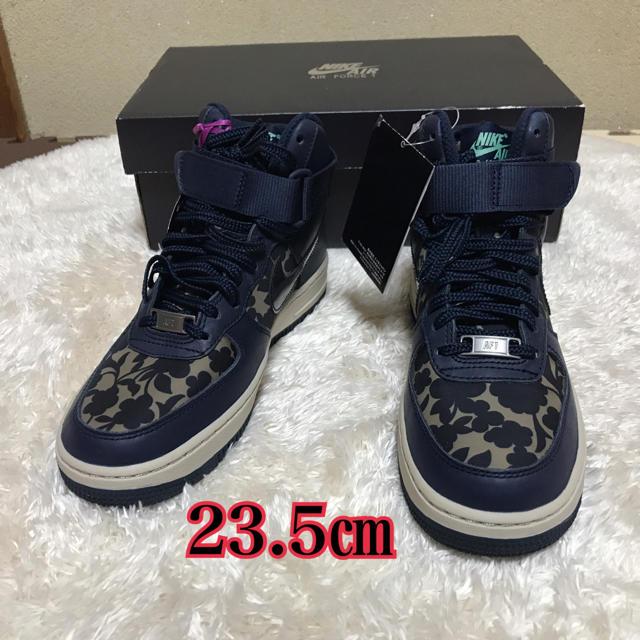 NIKE(ナイキ)のナイキ AIR FORCE 1 HI LIB QS☆新品☆23.5㎝ レディースの靴/シューズ(スニーカー)の商品写真