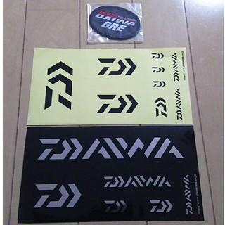 ダイワ(DAIWA)のDAIWAステッカー2種・ワッペン1枚(セット販売)(その他)