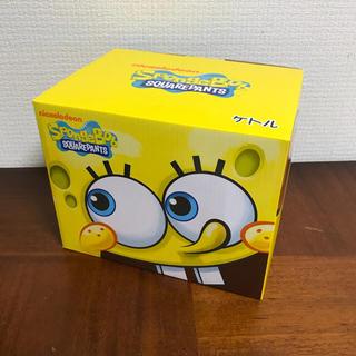 【新品未使用】スポンジボブ 電気ケトル(電気ケトル)