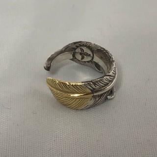 美品◆正規品◆タディ&キング K18 フェザーリング 指輪 約3号(リング(指輪))
