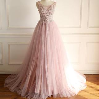 レースとチュール合わせて、ウェディングドレス(ウェディングドレス)