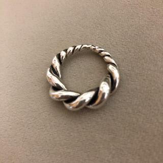 シルバーリング  チェーン(リング(指輪))