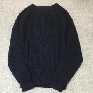 ムジルシリョウヒン(MUJI (無印良品))の無印良品 ミドルゲージ  ニット(ニット/セーター)