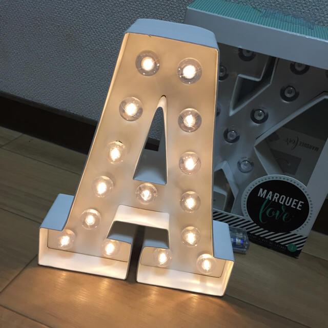 Francfranc(フランフラン)のマーキーライト マーキライト A インテリア/住まい/日用品のライト/照明/LED(その他)の商品写真