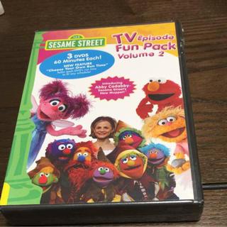 セサミストリート(SESAME STREET)のセサミストリート DVD 3枚セット(キッズ/ファミリー)